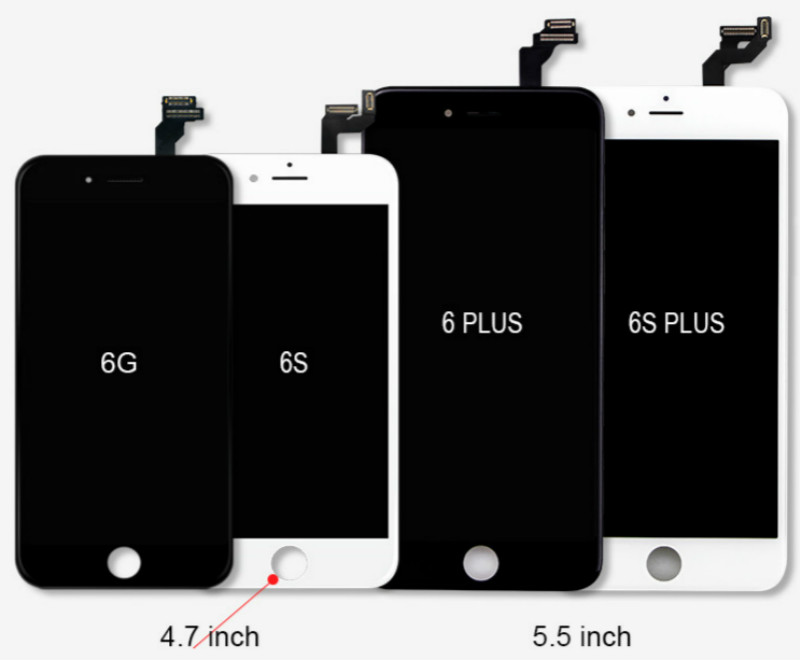For iPhone 6 6 plus 6s 6s plus Lcd With Touch Display