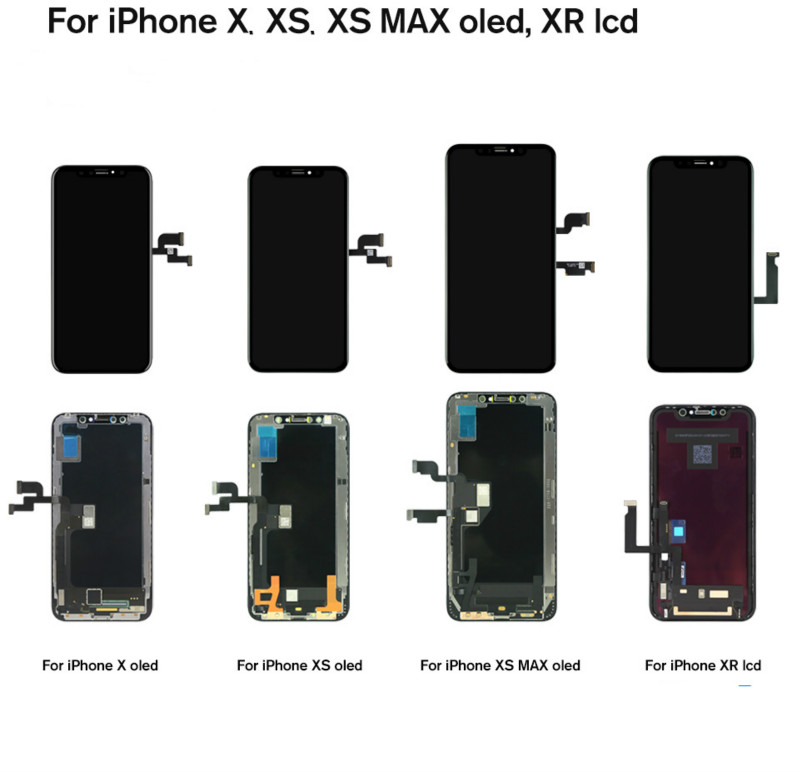 For iPhone X XS XS Max XR LCD Display