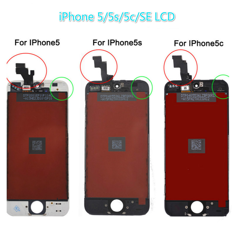Replacement LCD Display For iPhone 5 5s 5C SE