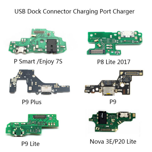Huawei P8 Lite P9 Plus P20 Lite P30 Nova USB Dock Connector Charging Port Flex Cable