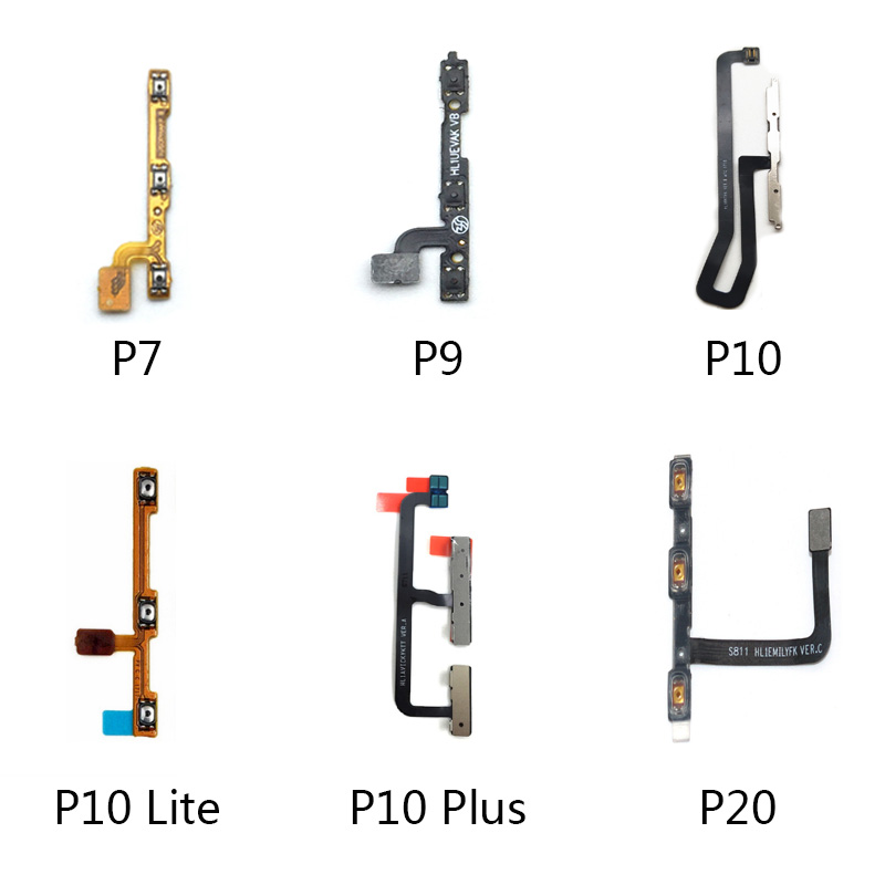 Power On Off Volume Up Down Button Key Flex Cable For Huawei P7 P9 P10 P20 Lite P10 Plus P9 Lite